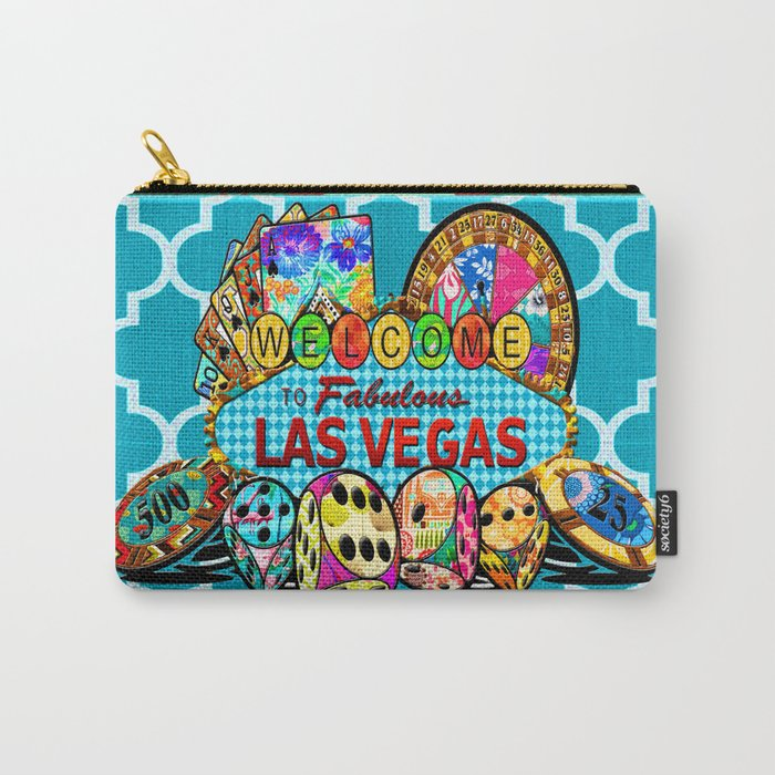 Fabulous Vegas Carry-All Pouch