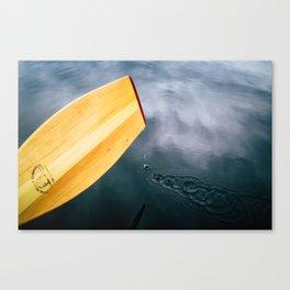 Paddle Drops Canvas Print