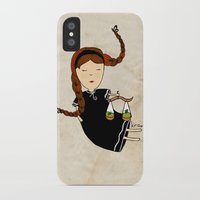 libra iPhone & iPod Cases featuring Libra by Kristina Sabaite