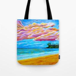 Pāʻia Bay Sunrise Tote Bag