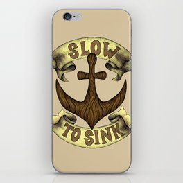 Slow to Sink iPhone Skin