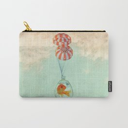 parachute goldfish Carry-All Pouch