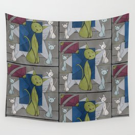 Kitties Wall Tapestry