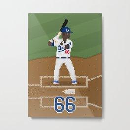 Major League Pixels - 8bit Puig Metal Print