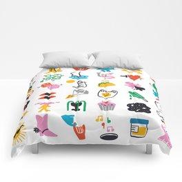 Relevant Symbols Comforters