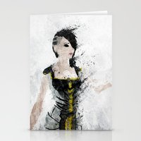 angel Stationery Cards featuring Angel by Melissa Smith