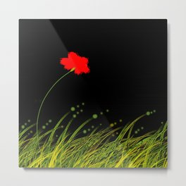 A red flower Metal Print