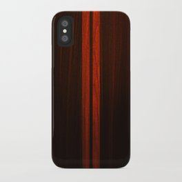 Wooden Striped Oak case iPhone Case