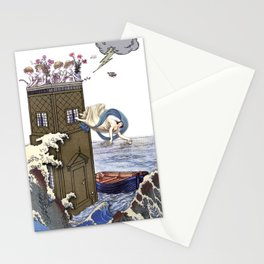 THE TOWER MAJOR ARCANA Stationery Cards
