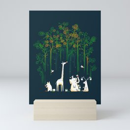 Re-paint the Forest Mini Art Print