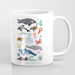 Sea Change: Ocean Animals Coffee Mug