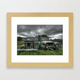 Jeepster Framed Art Print