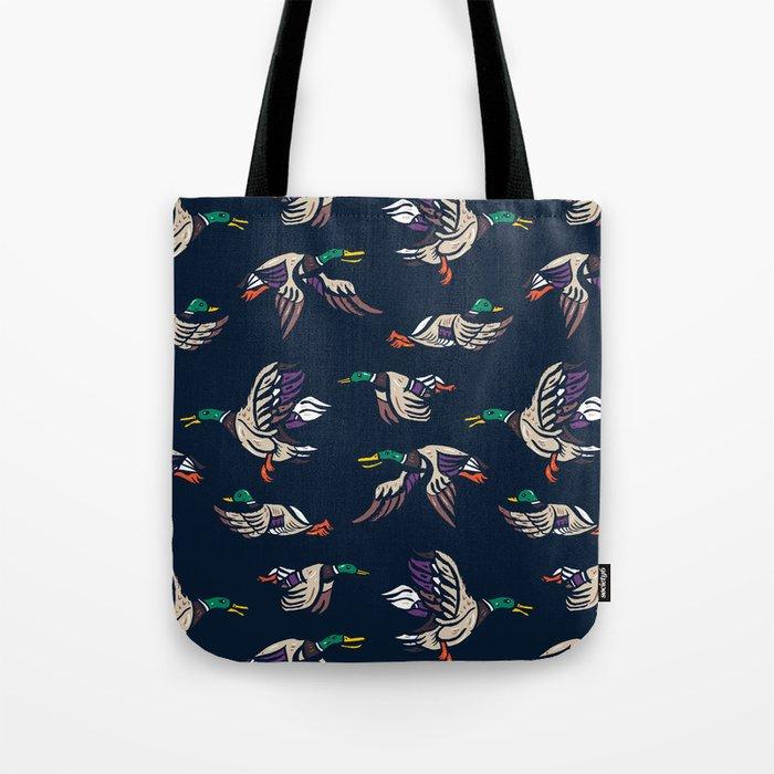 Male Mallard ducks Tote Bag