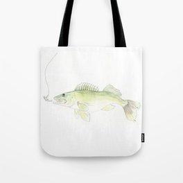 Walleye Tote Bag
