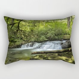 North Fork Silver Creek, No. 2 Rectangular Pillow