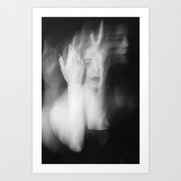 Azam Ghost 1 Art Print