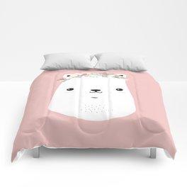 Flower bear Comforters