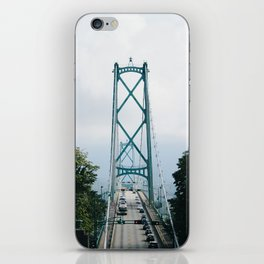 Lions Gate Bridge iPhone Skin
