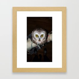 Owl Get Your Ass Framed Art Print