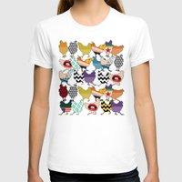 cincinnati T-shirts featuring Cincinnati Chickens by Sharon Turner
