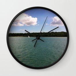 Lone Sailor Wall Clock