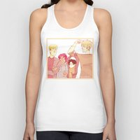 snk Tank Tops featuring SNK Buddies by rhymewithrachel