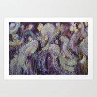Of Angels  Art Print