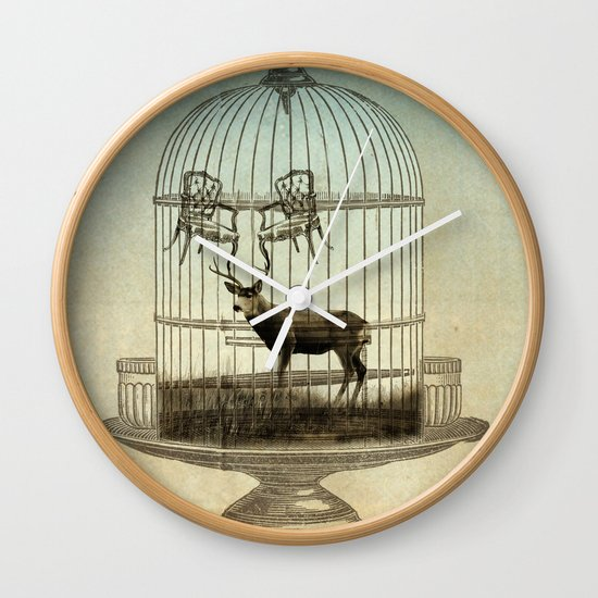stag chairs Wall Clock
