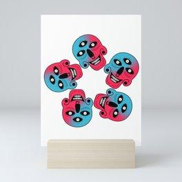 Mystical Skull Mini Art Print
