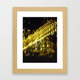painting with light5 stiletto pumps Framed Art Print