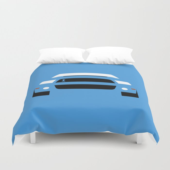 Ford Mustang Shelby Gt  Duvet Cover