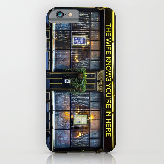 The wife knows....... pub iPhone & iPod Case