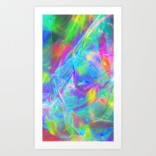 HighVisibilityRainCoat Art Print