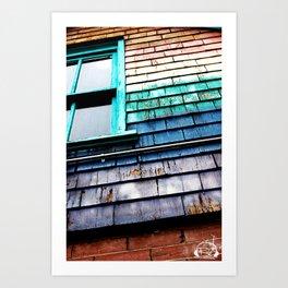Window Of Color Art Print