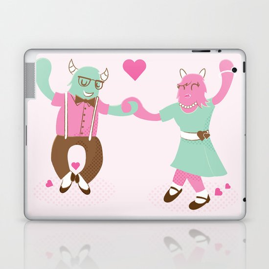 Monster Dance Laptop & iPad Skin