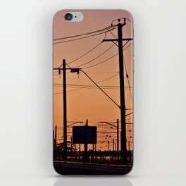 Powerlines iPhone Skin