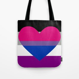 Ace and Biromantic Tote Bag