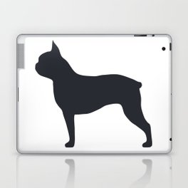 boston terrier silhouette Laptop & iPad Skin