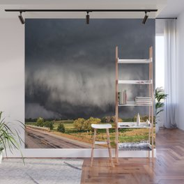 Tornado Day - Storm Touches Down in Northwest Oklahoma Wall Mural