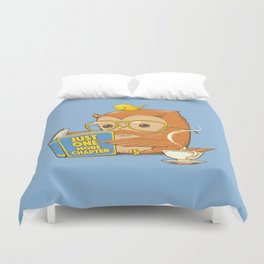 Just One More Chapter Duvet Cover