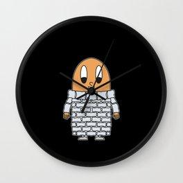Fountain Egg Wall Clock