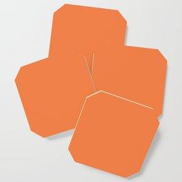 Celosia Orange Coaster