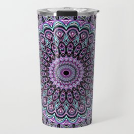 Blackberry Bliss - Mandala Art Travel Mug