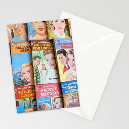 Vintage Romance Collage Stationery Cards
