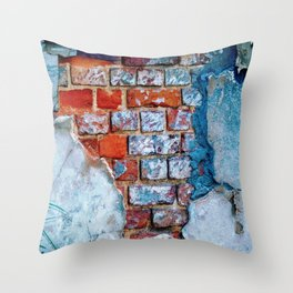 Brick House Throw Pillow