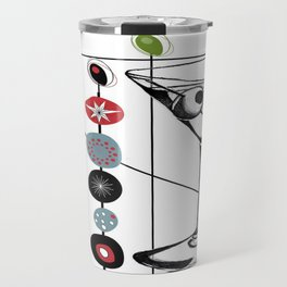 Mid-Century Modern Art Atomic Cocktail 3.0 Travel Mug
