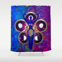 Cycles 3D Egyptian Goddess Shower Curtain