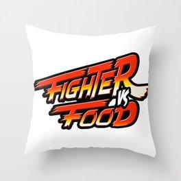 """""""Street Fighter"""" Throw Pillow"""