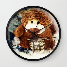Turtle P. Turtle, Esquire and Buddy Bear Wall Clock