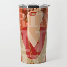 Pushing Daisies - Lily Travel Mug